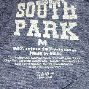 comedy partners Tops - South Park Cartman T shirt